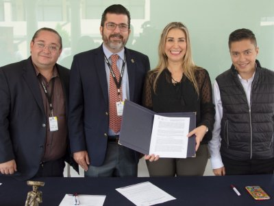 Firman convenio STyC y ULDA para impulsar en Morelos la profesionalización de organizadores de bodas
