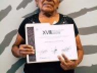 Evodia Nazaria Cortes Rodriguez, Tercer lugar, categoría Alfarería libre de plomo y cerámica