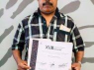 Fausto Tozcano Pelenco, Mención honorífica, categoría Alfarería libre de plomo y cerámica