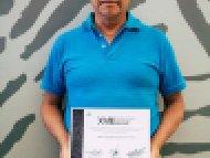 Gregorio Salvador Mendoza Hernández, Primer lugar, categoría Cartonería