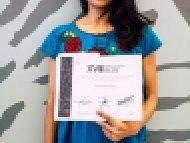 Raissa Aguilar López, Tercer lugar, categoría Cartonería