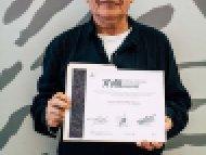 Arturo Ezequiel Mata Quiroz, Segundo lugar, categoría Talla en madera