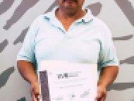 Miguel Ángel Tlacomulco Zapotitla, Mención honorífica, categoría Cerería tradicional escamada