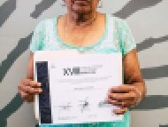 Julia Díaz Peñaloza, Mención honorífica, categoría Cerería tradicional escamada