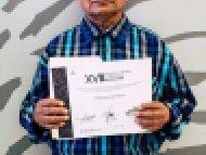 Andrés Hilario Gil Velasco, Segundo lugar, categoría Varios