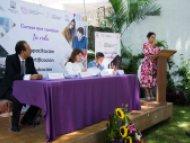 Firman convenio STyC e Icatmor para capacitación de prestadores de servicios turísticos