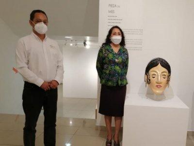 """<a href=""""/noticias/mascara-de-leona-vicario-es-pieza-del-mes-en-el-mmapo"""">Máscara de Leona Vicario es pieza del mes en el MMAPO</a>"""