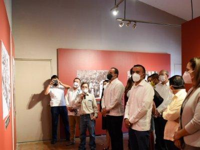 """<a href=""""/noticias/inaugura-cuauhtemoc-blanco-muestra-grafica-rostros-del-zapatismo"""">Inaugura Cuauhtémoc Blanco muestra gráfica """"Rostros del Zapatismo""""</a>"""