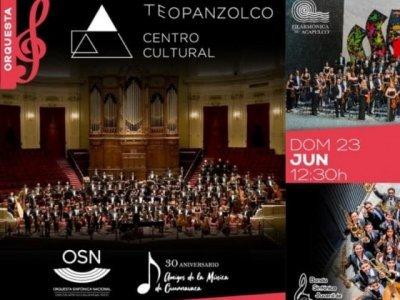 Este mes se presentan la Orquesta Sinfónica Nacional, la Filarmónica de Acapulco y la Banda Sinfónica Juvenil
