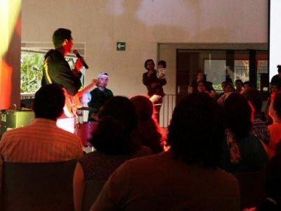 Más de 200 personas de todas las edades disfrutaron de la Noche de Museos realizada en el Museo Morelense de Arte Contemporáneo (MMAC)